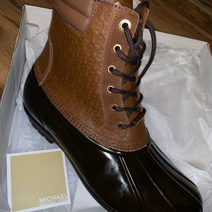 Brand New Michael Kors Duck Boots